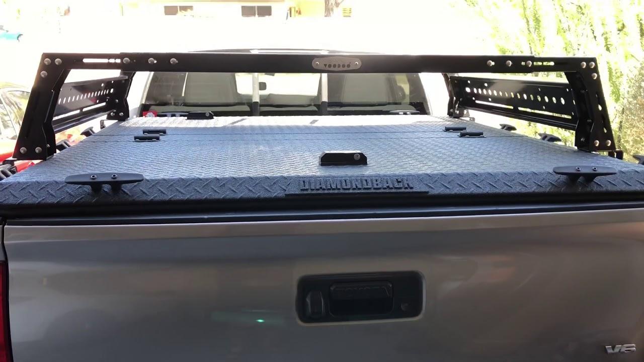 premium rack with diamondback cover