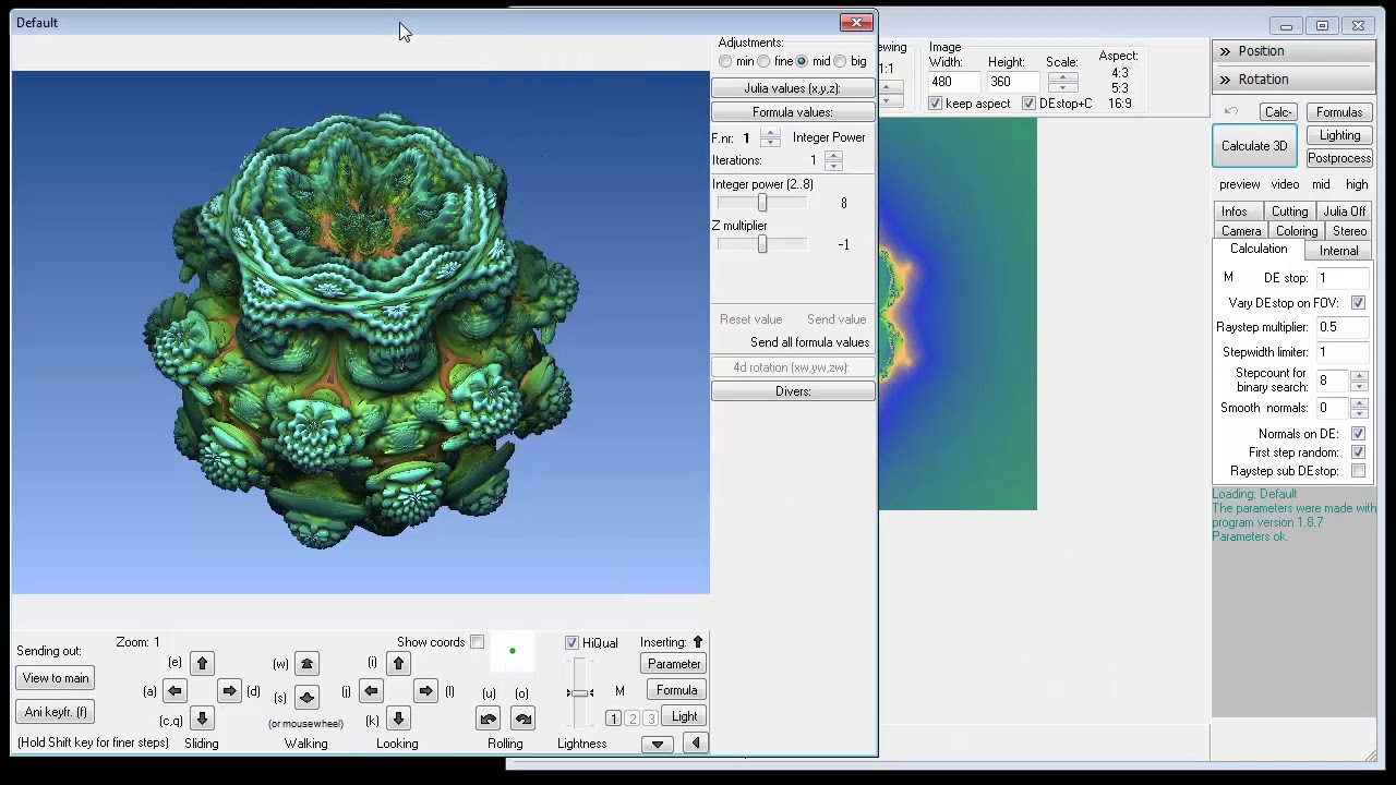 How To Make An Animation in Mandelbulb 3D
