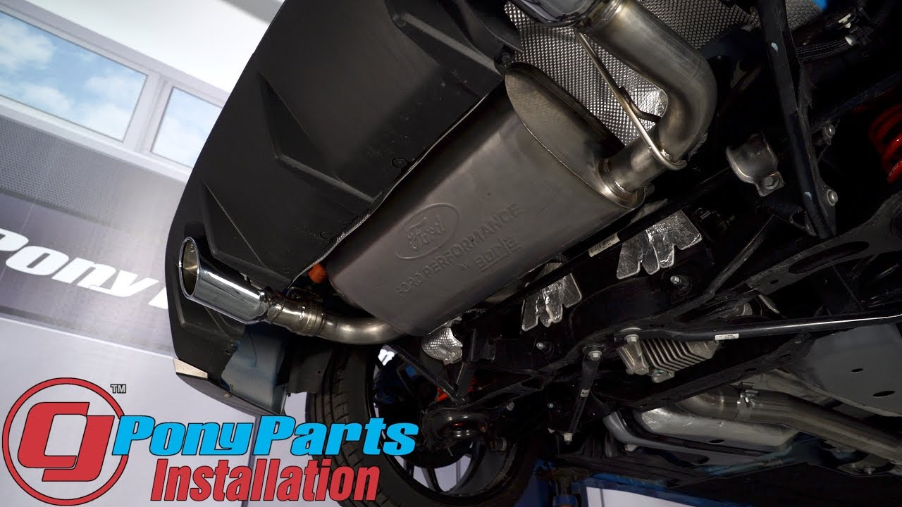 focus rs ford performance cat back exhaust system 3 active sport 2016 2018 installation
