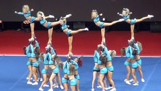 "Cheer Extreme SSX ""Sharkies"" NCA 2016"