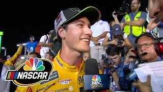 2018 NASCAR Cup Series: Logano emotional, speechless after winning Cup title | NASCAR | NBC Sports