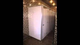 thi công lắp đặt vách ngăn toilet, vách ngăn văn phòng, vách ngăn nhôm kính