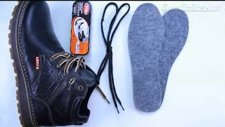 Видео-обзор зимних ботинок Levis