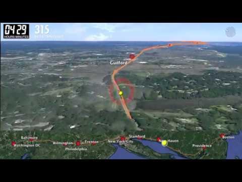 Full Length - Northeast Corridor Drone Flight