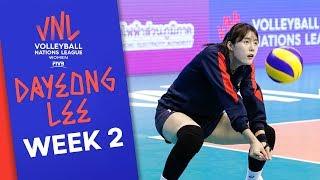 Dayeong Lee best Plays   #VNLWomen Week 2!   Volleyball Nations League 2019