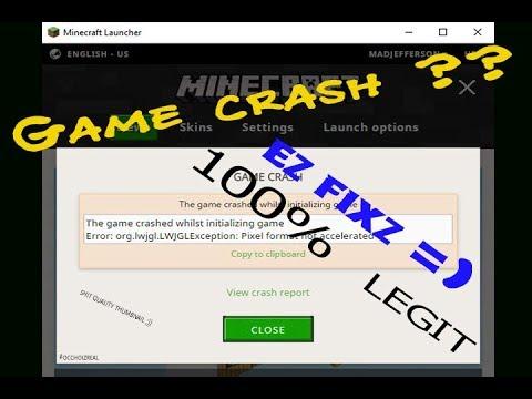 CHƠI MINECRAFT KHÔNG CẦN VGA ?! - Cách để fix lỗi crash trên Minecraft - HieuTrungMc