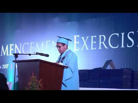 Iman Usman - Commencement Speech di Lone Star College, Jakarta