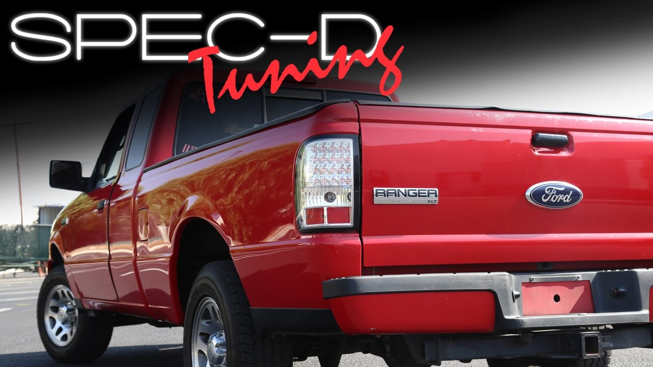 Specdtuning Installation Video 2006 2017 Ford Ranger Led Tail Lights