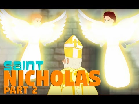 Story of Saint Nicholas - Part -2 | English | Story of Saints For Kids