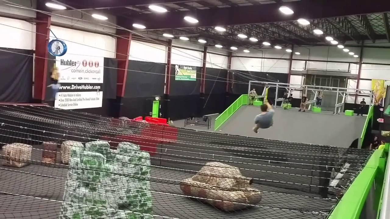 Zip Lining At Zip City Indianapolis Youtube