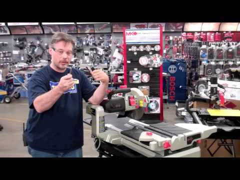 Lackmond Wts2000l Beast Wet Tile Saw Toolking Com Review