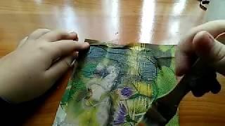 Tablou cu metoda servetelului si aspect de pictura in ulei