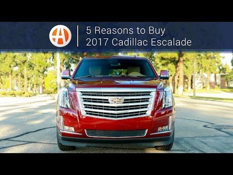 2017 Cadillac Escalade | 5 Reasons to Buy | Autotrader