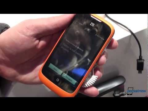 ZTE Open (Firefox OS) Hands-On