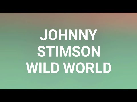 Johnny Stimson - Wild World (Lyric Video)