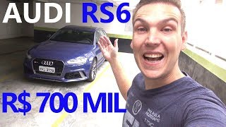 R$ 700 Mil Na Minha Garagem! / Teste Audi Rs6 (Bônus: 290 Km/H Na Estrada)