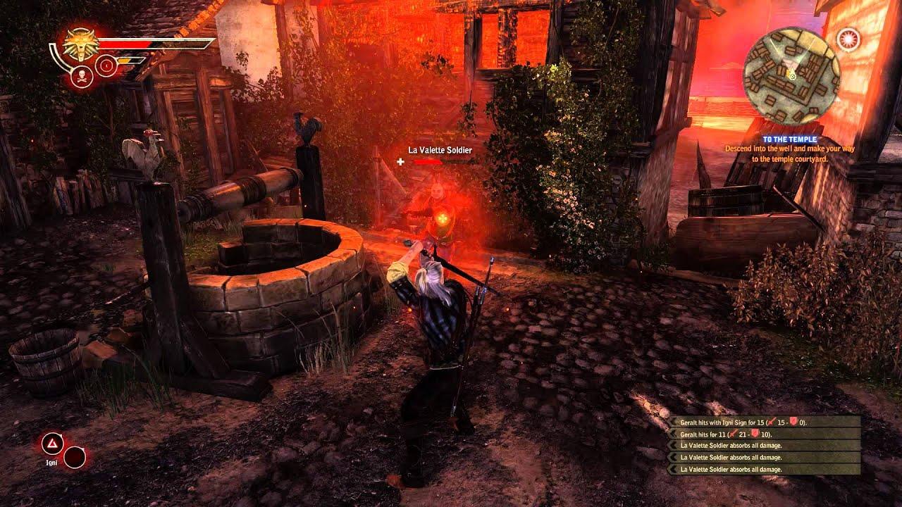 witcher 2 full combat rebalance