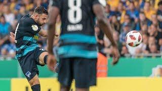 Die Top 5-Tore der 1. Runde im DFB-Pokal