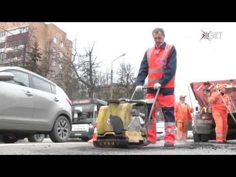 В рубрике «Картинка дня» ремонт участка дороги по улице Менделеева
