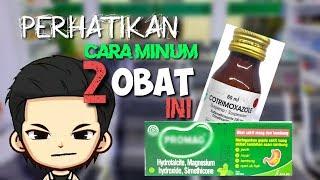 Cara Minum Obat Maag Dan Obat Suspensi Yang Benar (gastritis)