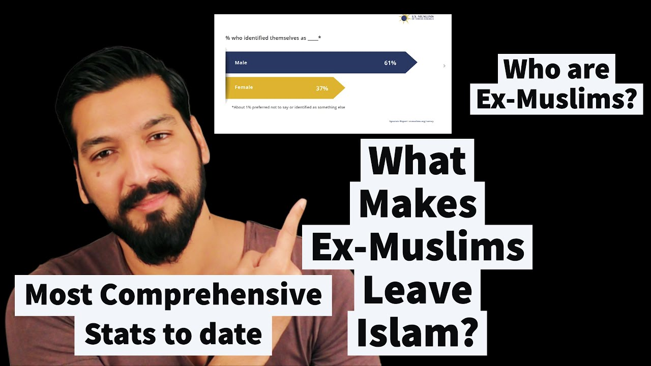 Latest Stats on Ex-Muslims