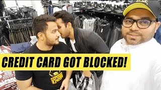 OUR CARD GOT BLOCKED!!