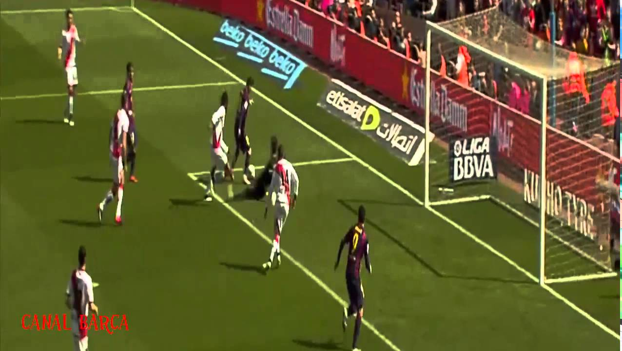 FC Barcelona vs Rayo Vallecano All goals and highlights HD