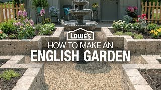 How to Make a Garden | English Garden Design Ideas