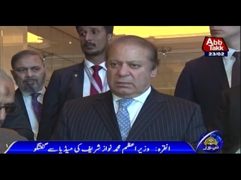 Ankara: PM Nawaz Sharif's Media Talk