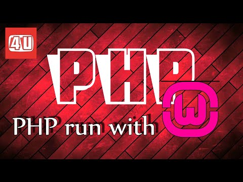 how to open php file in wamp server
