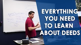 All About Deeds - Real Estate Course