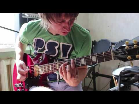 Paranoid - Black Sabbath - Electric Guitar сover - our student - video to lesson