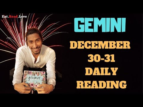 """GEMINI SOULMATE """"A CHANGE HAS HAPPENED WITH YOUR SOULMATE"""" DEC 30-31 DAILY TAROT READING"""