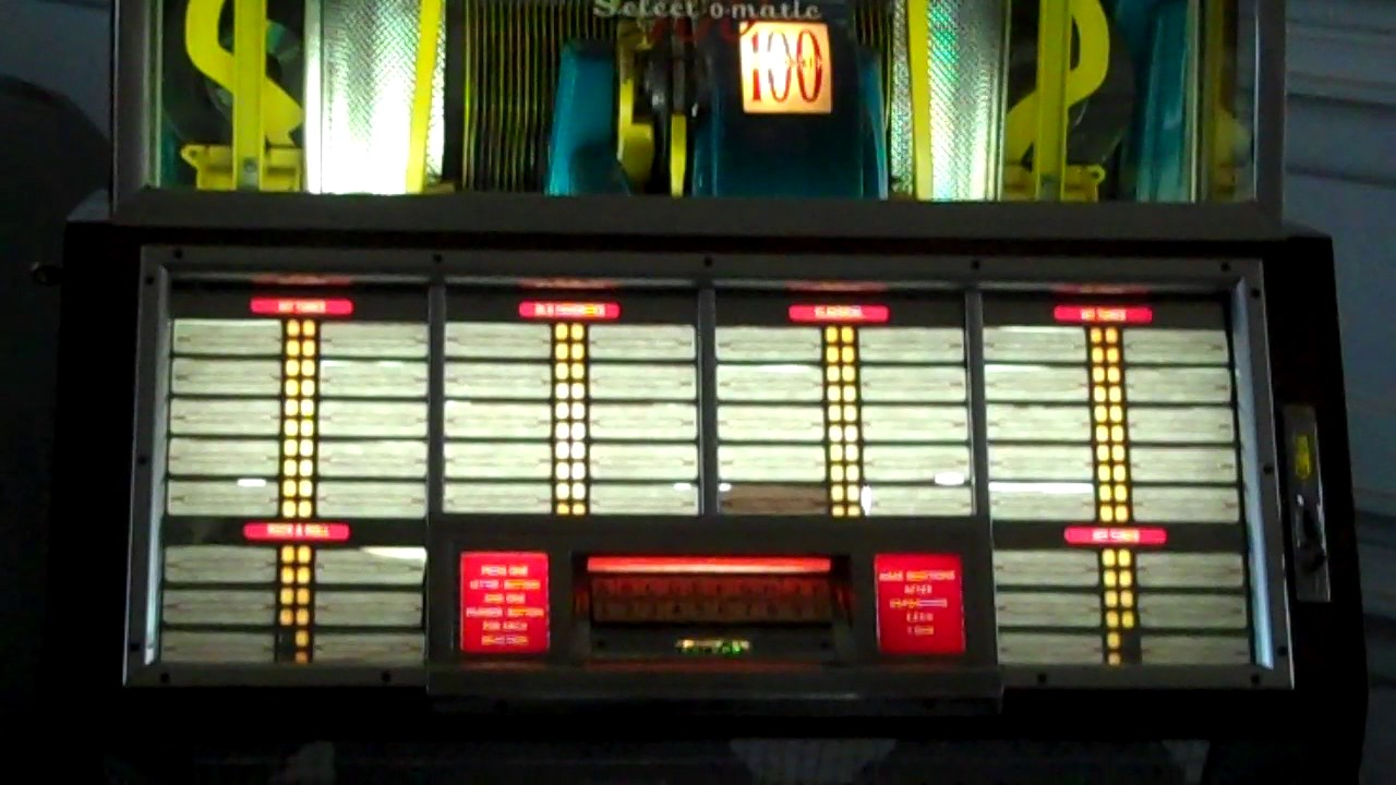 1951 Seeburg Jukebox--Model B