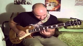 Juanjo Pelegrín  Emotive Theme with Tokai LS98S Gold top