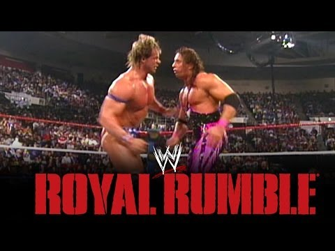 Royal Rumble Recall 1994: Co-Winners Lex Luger and Bret Hart