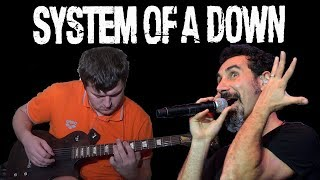 Chop Suey! (System Of A Down Guitar & Bass cover) with Serj Tankian vocals