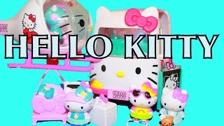 AllToyCollector HELLO KITTY Rescue Ambulance & Helicopter Toys 2014 Frozen Belle Sanrio ハローキティ