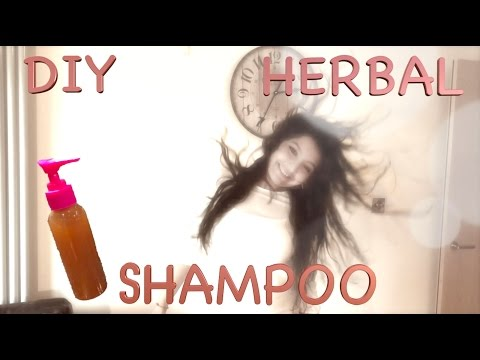 Hair Loss Treatment - How to make Herbal Shampoo for Thick Hair