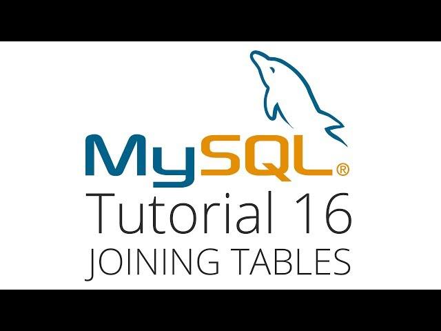 MySQL tutorial 16 - joining many tables