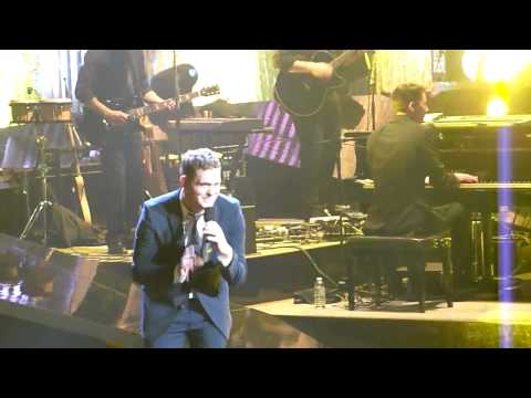 Michael Buble HD - Home - Last dance for me - MONTREAL 2010