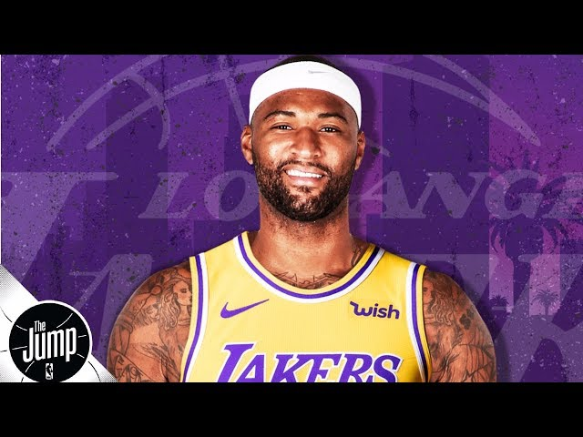 DeMarcus Cousins, Rajon Rondo sign with the Lakers | The Jump