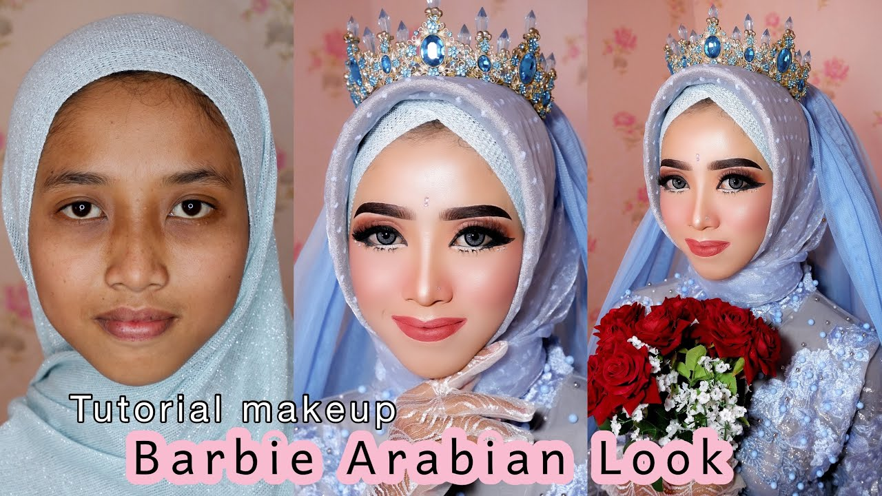 Tutorial Makeup BARBIE ARABIAN Look
