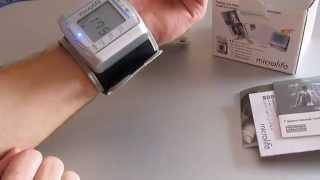 Тонометр на запястье Microlife BP W 100(Тонометр на запястье Microlife BP W 100. Этот и много других тонометров вы можете купить в интернет-магазине