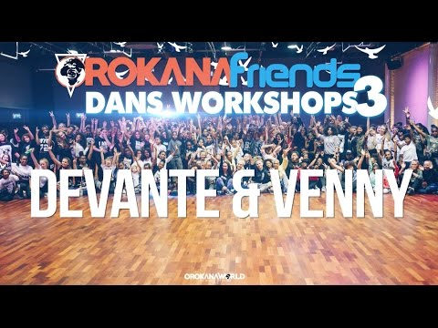 DEVANTE & VENNY | OROKANA FRIENDS WORKSHOPS 3 | AFRO DANCE
