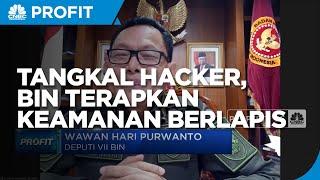Tangkal Serangan Hacker, BIN Terapkan Keamanan Berlapis