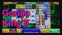 """HOUSE OF FUN Casino Slots Let's Play """"GORILLA KING II"""" Your Cell Phone"""