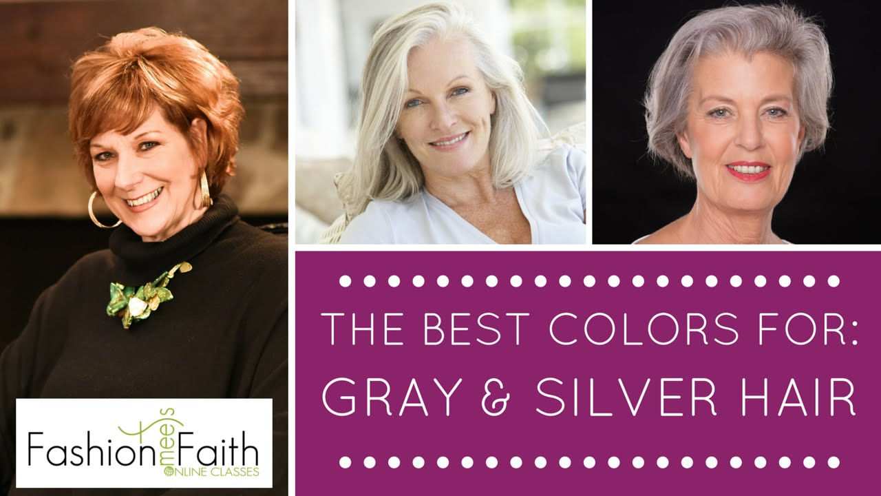 What Color Should I Wear If I Have Gray Hair Shari Braendel Youtube
