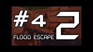 Roblox Flood Escape 2 - Hard and Insane level [ pro server ] #4