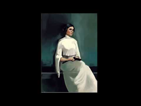 Princess Leia Portrait Time Lapse
